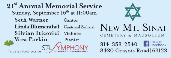 21st Annual Memorial Service at New Mt. Sinai